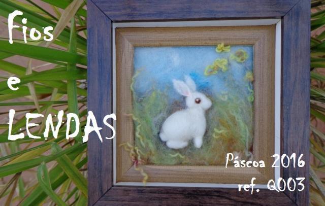 Ref. 003, quadrinho, 17x17 cm, com moldura e vidro (que não está na foto), R$ 120,00, fora frete